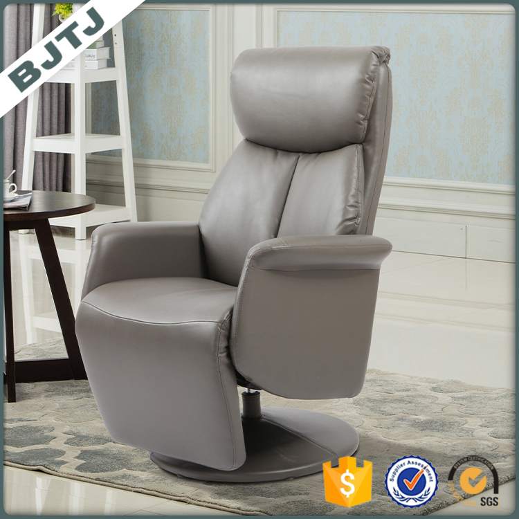 BJTJ Modern leather stand up chair leisure ottoman chair 70285