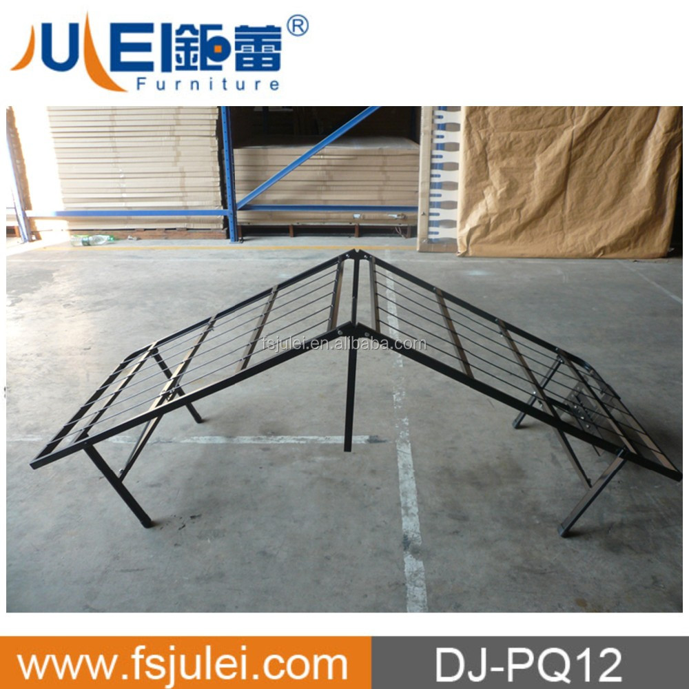 new design popular iron metal folding cot folding bed DJ-PQ12