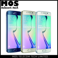 G9250 64GB 5.1inch Samsung Galaxy S6 Edge 64GB 4G LTE Samsung Exynos 7420 2.1GHz + 1.5GHz Cell Phone Wholesale