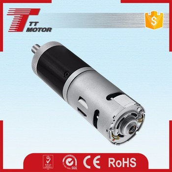 GMP42-775PM 24v micro dc planetary geared motor electric