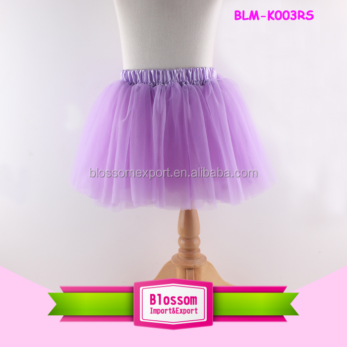 Lavender plain tutu cheap tutu/children/ kid/girls dance ballet short skirt dress baby mini skirt