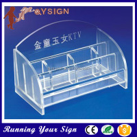 2015 Wholesale girls used acrylic clear cosmetic organize