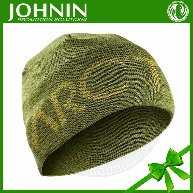 2015 wholesale acrylic promotion custom made beanie