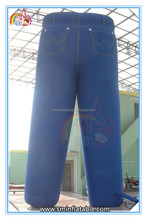 Hot selling giant inflatable jeans,inflatable trouser,inflatable advertising pants for promotion