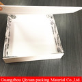 New OEM printed paper rigid cardboard folding fancy clothes packaging box