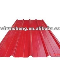 Galvanized Color Steel Roof Tile For