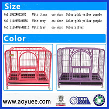 Multiple Sizes Cat Dog Folding Steel Crate Animal Playpen Wire Metal Dog Cage, Dog Crate, Dog Kennel / Pet Kennel