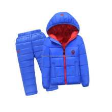 Kids Vintage Lightweight Hooded Down Jacket