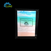 OEM elegant design transparent photo picture frame