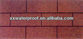 colorful asphalt shingles roofing material