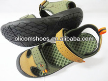 Newest! Super sport style men beach PU upper EVA outsole sandals
