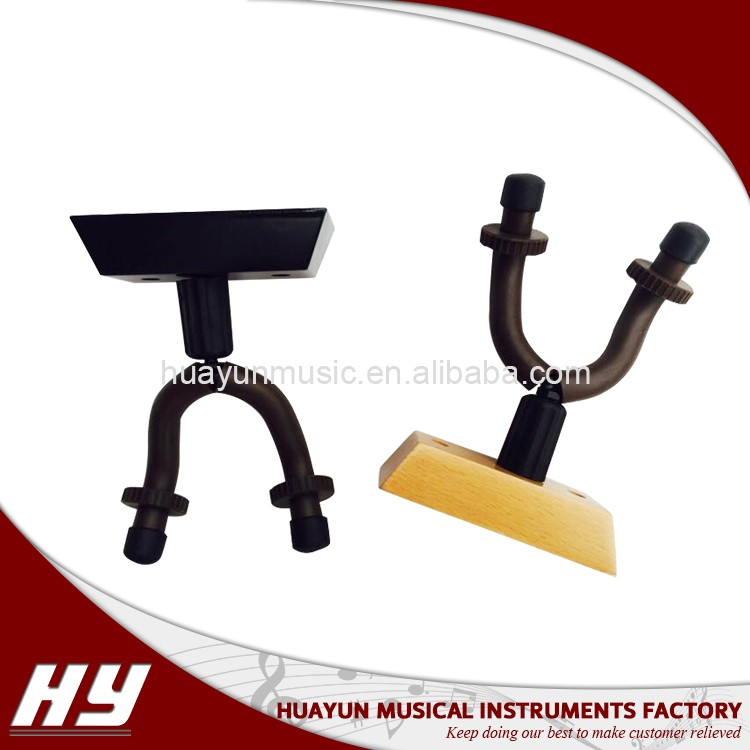 New style guitar hanger for wall mount,wooden guitar hook