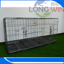 Display steel dog Aluminium pet cage