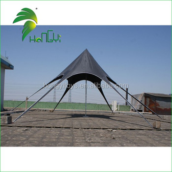 Good Quality Black Star Shaped Tent For Outdoor Camping