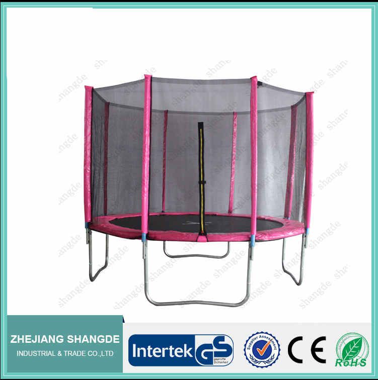 8ft commercial pink trampolines