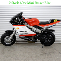 Wholesale Mini Toy Bike Alloy Pull Start 49CC Pocket Bike with ISO