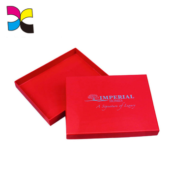 Good printing quality OEM new products gift case fashion LOGO design paper t-shirt packaging box