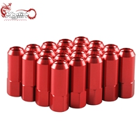 Ryanstar 1 lot(20pcs)Color Lug Nuts with cap 70MM for M12 x 1.5