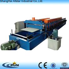 Alibaba roofing galvanized corrugated steel sheet tile roll forming machine