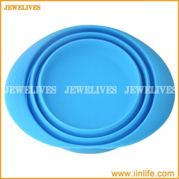 New design silicone collapsible bowl