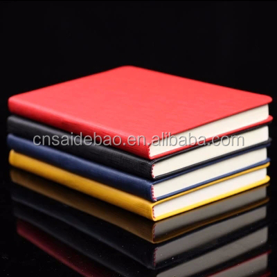 hot sale cheap leather planner a5 / custom printed hardcover planner / PU hardbound notebook