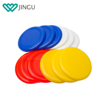 Premium quality durable colorful cheap promotional OEM plastic flying frisbee disc for frisbee game