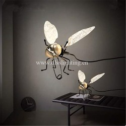 dragonfly shape creative modern wall lamp home decorative