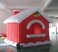 HOLA christmas bounce house/bouncy for show