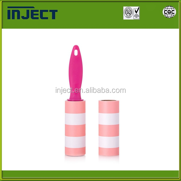 Eco-friendly sticky lint roller factory sell directly clothes beds carpets pets lint roller sticky industrial lint roller