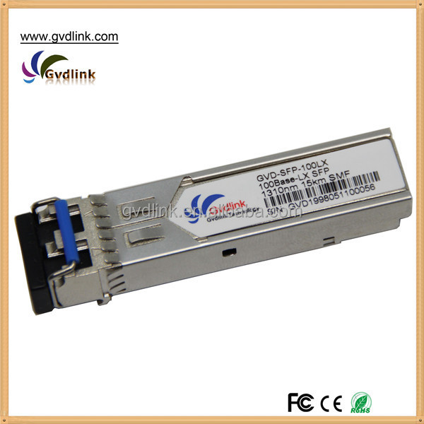 100% compatible Cisco 100BASE-LX Fast Ethernet 155M 2km SFP GLC-FE-100LX