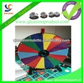 "Luxury 24"" prize wheel MDF print more colors solid wood structures"