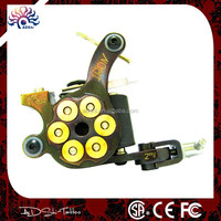 Iron handmade bullet 10coils shader tattoo machine