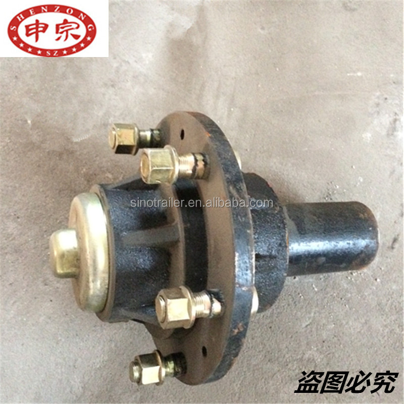 Trailer <strong>Wheels</strong> hubs and Trailer Parts Use hub complete made in china