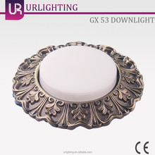 High power energy saving round balcony glass led ceiling light fittings
