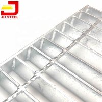 32X5 Flat Bearing Platform Standards Floor Decking Steel Grating Tramex
