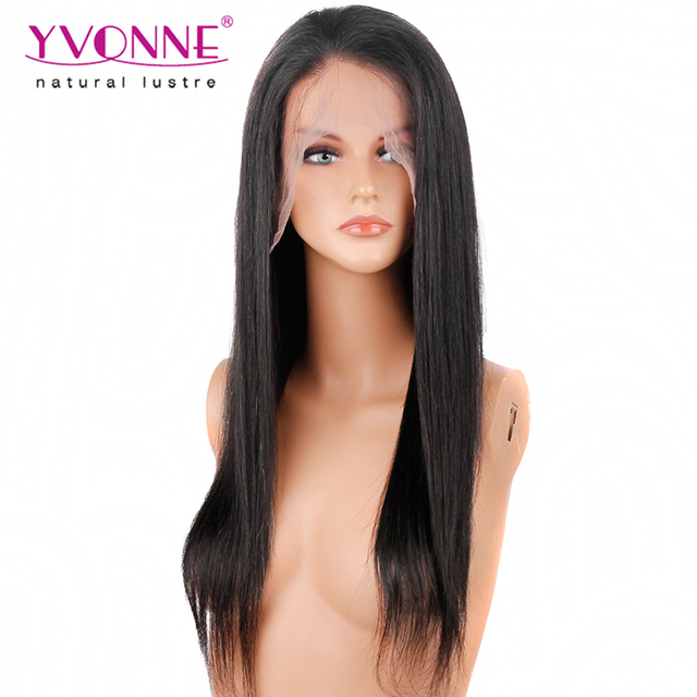 Overnight Shipping Brazilian Natural Straight Wholesale Cheap Human Hair Full Lace Wig In Guangzhou