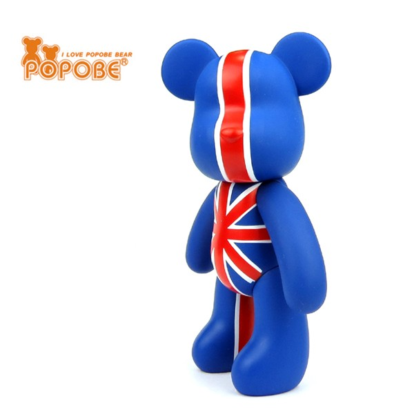 Flag Bear Toy Cell Phone Holder Movable Bear Shape Toy Birthday Gift Toys For Kids