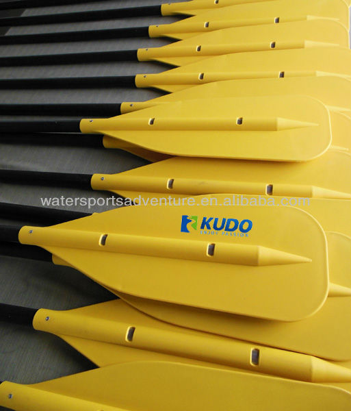 Wholesale Canoe Paddles, Red/Yellow Blade, 150CM Length