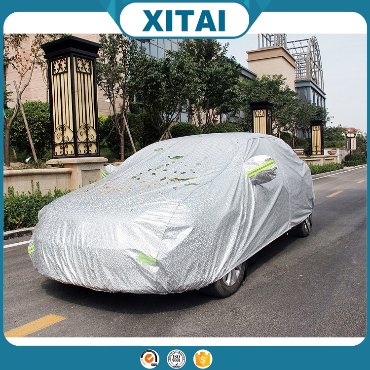 Hot sale Xitai car accessories thick cotton outdoor vehicle cover/sun/snow/heat/water/dust resistance car cover art.-no. h86