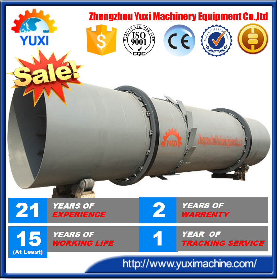Hot Horizontal Gypsum Rotary Kiln For Lime Calcination