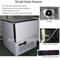 Mini size quick freezer for commercial use