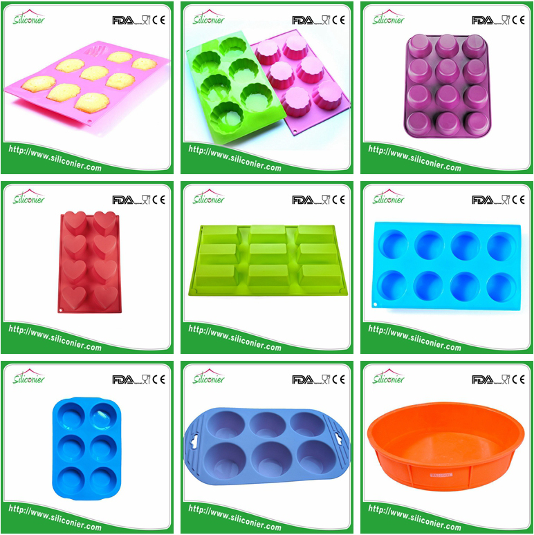 China manufacturer silicone silicon cake mold