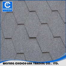 China made good building hexagonal asphalt roofing shingles