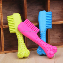 Wonderful Designed Comb Shape Nontoxic Tasteless Silicone Pet Dog Teethers
