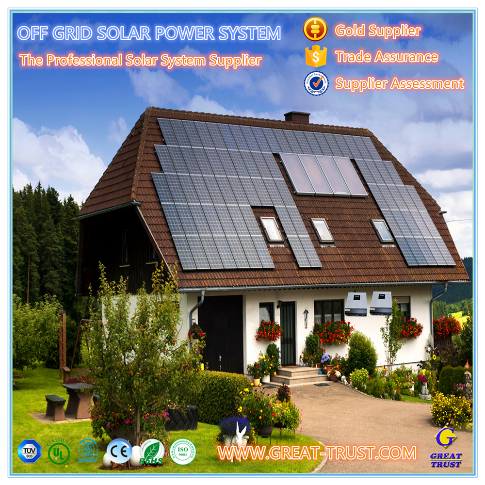 Home used 1kw,2kw,3kw,5kw,10kw,50kw,100kw,500kw off grid solar power system solar panel 5kw with great price