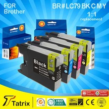 Hot selling !!! factory direct price Compatible Ink Cartridge LC79 LC75 for Brother inkjet printer