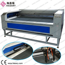 80W / 100W/ 150W CNC CO2 laser cutting machine for plastic / polyester film, screen protector, pvc foam board, maple plywood die