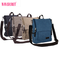 Promotional tote cross body bag high quality canvas messenger bag classic canvas satchel bag for man