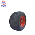 Golden Supplier Solid Pneumatic Rubber Wheel 4.00/3.50-4