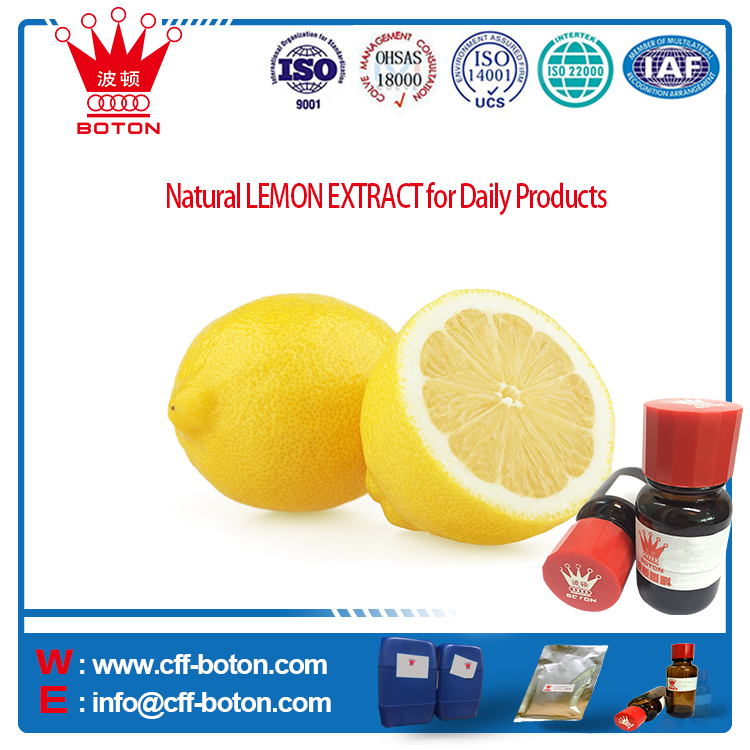 Natural LEMON EXTRACT for Daily Products